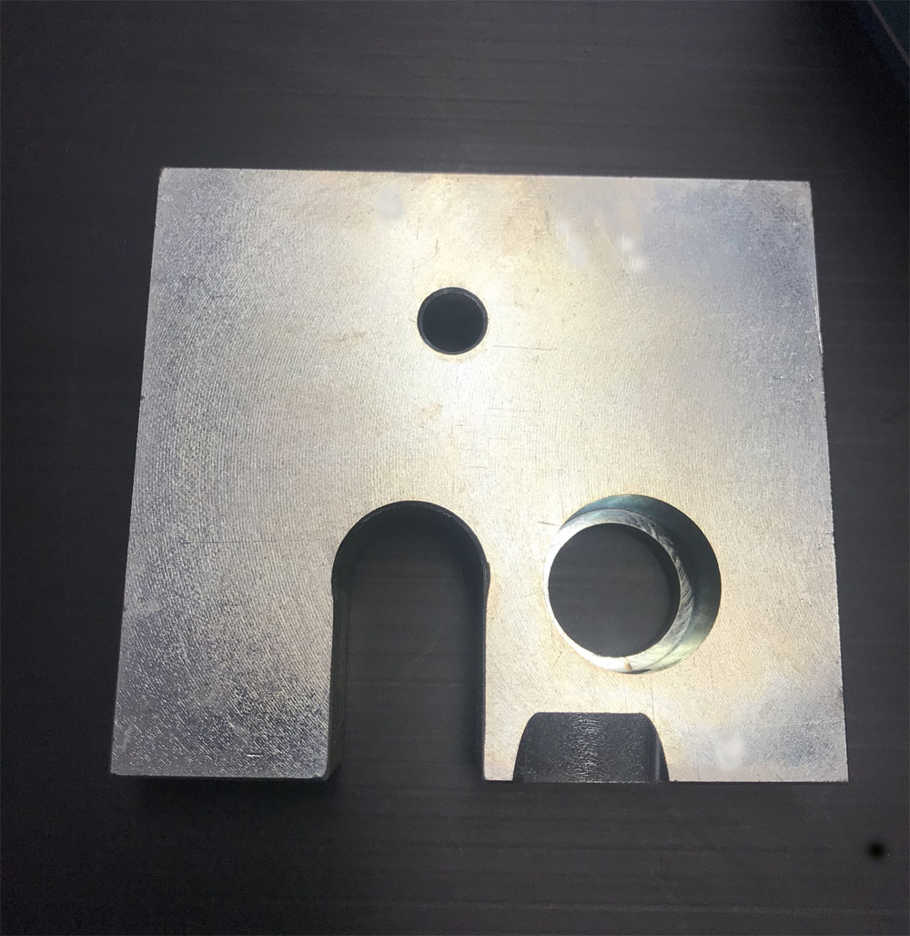 Base Plate Stainless Steel TDP-0 Machine Part