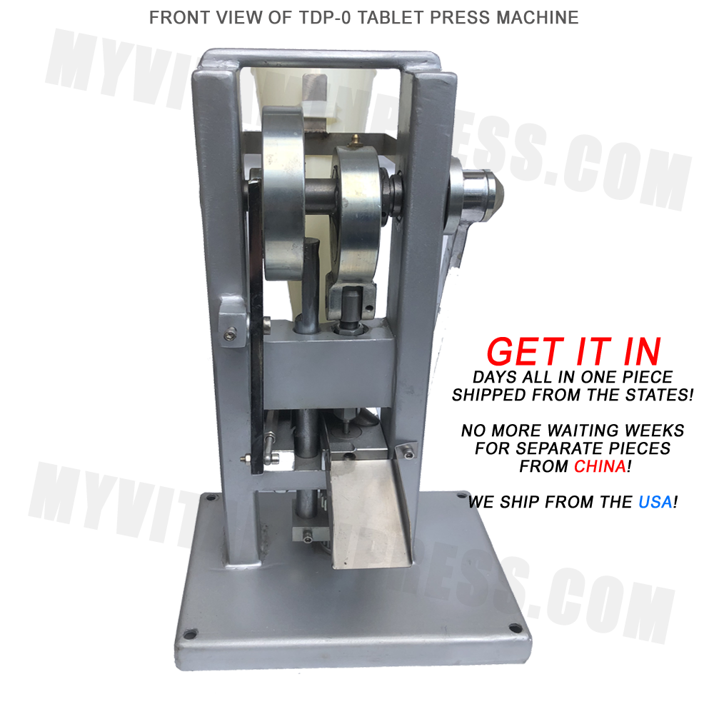 TDP-0 Tablet making pill press machine for sale - Lowest prices at MyVitaminPress.com