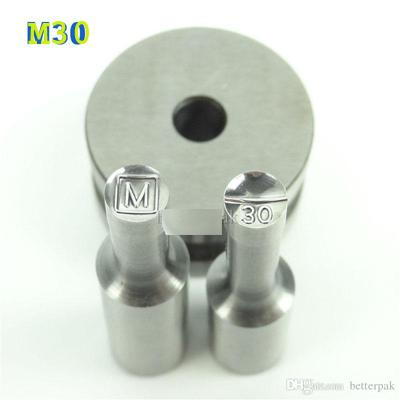M30 Round Steel 8mm Complete Set with NO Thickness Adjustment
