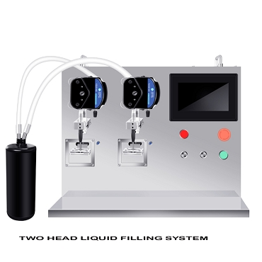 Liquid filling Machine (2 Heads)