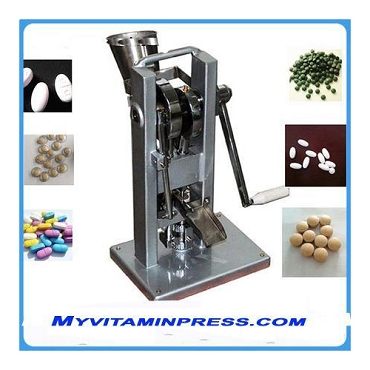 TDP-0 Style Tablet Press Machine - Manual Single Punch Pill Maker Easy to use, Tablet Press, READY TO SHIP FROM, USA.  PLEASE CALL BEFORE YOU BUY.
